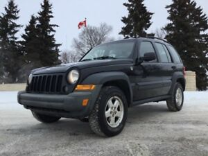 2007 Jeep Liberty, SPORT-PKG, AUTO, AWD, LOADED, CLEAN CARFAX!