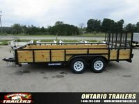 2016 Sure-Trac 3 board highside 16 ft tandem