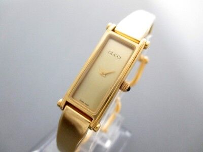Auth GUCCI 1500 Gold Hardware Women