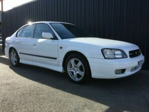 2000 Subaru Liberty MY00 Heritage (AWD) White 4 Speed Automatic Sedan