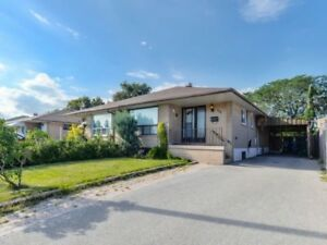 Detached Bungalow In An Accessible Location Of Brampton