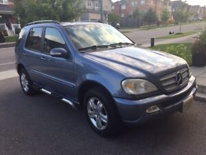 2005 Mercedes-Benz M-Class Special Edition SUV, Crossover