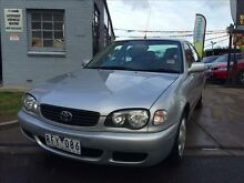 2001 Toyota Corolla AE112R Ascent Seca 4 Speed Automatic Liftback Brooklyn Brimbank Area Preview