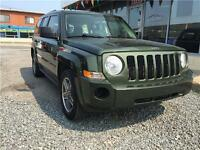 2009 Jeep Patriot Sport 4X4  4 CYLINDRES  CUIR