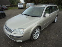 Ford Mondeo 2.0 TDCI GHIA X 130PS, DIESEL, HIGH SPEC (grey) 2004