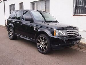 2009 Land Rover Range Rover Sport L320 09MY Super Charged Black Auto Sports Mode Wagon Petersham Marrickville Area Preview