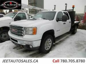 2014 GMC Sierra 3500HD SLE with 9 Ft Flat deck