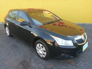 2012 Holden Cruze JH Series II MY13 CD Black 6 Speed Sports Automatic Hatchback Winnellie Darwin City Preview
