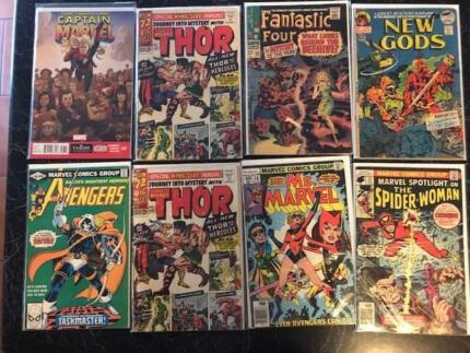 COMICS !!! KEYS AND FIRST APPEARANCES
