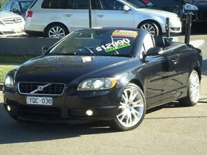 2006 Volvo C70 T5 Black 5 Speed Auto Geartronic Convertible Clyde Parramatta Area Preview