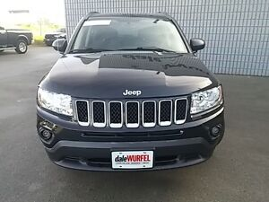 2012 Jeep Compass North 4x4 HEATED SEATS SUNROOF BLACK PAINTED A London Ontario image 2