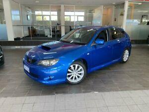 2008 Subaru Impreza G3 WRX Hatchback 5dr Man 5sp AWD 2.5T [MY08] Blue Manual Hatchback Como South Perth Area Preview