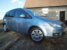 0656 FORD FOCUS C-MAX 2.0 GHIA AUTOMATIC MPV 5DR FSH JUST SERVICED MOT 30/08/17