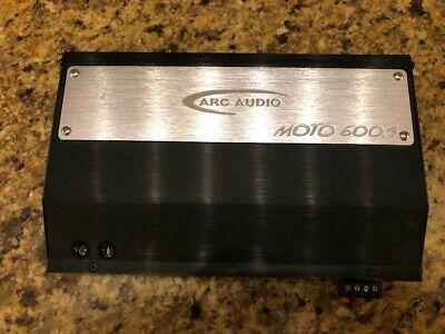 ARC MOTO 600.4 AMP & PSM Sound processor for Harley USED* SEE Description*