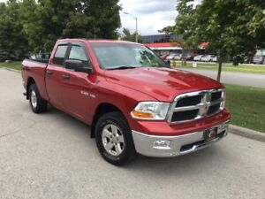 2009 DODGE RAM 4X4 1500 SLT HEMI 6PASS 129km NO ACCIDENT BLUTOTH