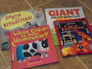 CHILDREN'S HARDCOVER BOOKS