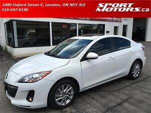2013 Mazda3 GS-SKY! Leather! New Tires & Brakes! Rust Proofed!