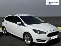 2015 Ford Focus ZETEC Petrol white Manual