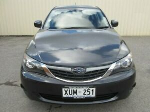 2008 Subaru Impreza MY08 R (AWD) Charcoal Grey 5 Speed Manual Hatchback Windsor Gardens Port Adelaide Area Preview