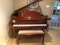 Cramer Baby Grand Piano and Duet Stool