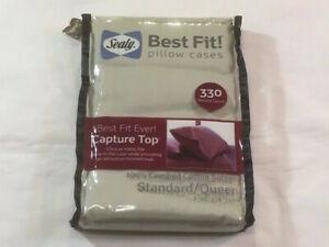 Sealy Best Fit Standard Pillowcase Set Sage Green