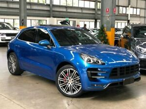 2014 Porsche Macan 95B Turbo Wagon 5dr PDK 7sp AWD 3.6TT [MY15] Blue Sports Automatic Dual Clutch Port Melbourne Port Phillip Preview