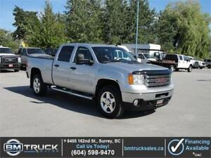 2014 GMC SIERRA 2500HD SLE CREW CAB SHORT BOX 4X4