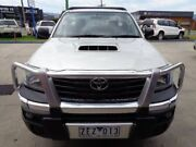 2012 Toyota Hilux KUN26R MY12 SR Silver 5 Speed Manual Cab Chassis Bayswater Knox Area Preview