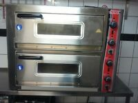 SGS double pizza oven
