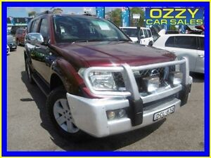 2005 Nissan Pathfinder R51 ST-L (4x4) Red 6 Speed Manual Wagon Penrith Penrith Area Preview