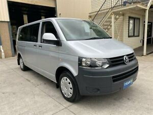 2010 Volkswagen Caravelle T5 MY10 LWB DSG Silver 7 Speed Sports Automatic Dual Clutch Wagon Greystanes Parramatta Area Preview