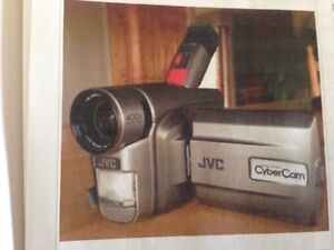 JVC camcorder and two Pentax cameras for sale