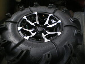 30x9-14 Gorilla Silverback Tires and Wheels