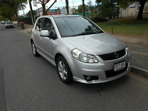 2007 Suzuki SX4 GYA Silver 5 Speed Manual Hatchback Somerton Park Holdfast Bay Preview