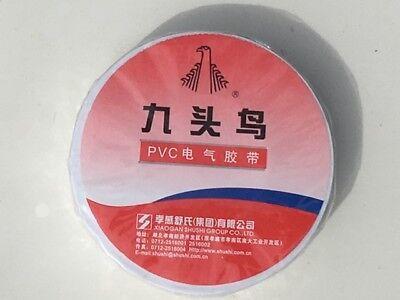 White Pvc Vinyl Electrical Tape 34 X 66 1 Roll - Free Shipping