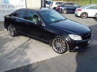 MERCEDES-BENZ C CLASS SPORT CDI AUTO ( FINANCE & WARRANTY AVAILABLE) (black) 2009