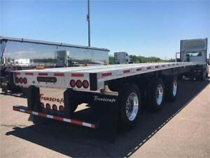 2018 Transcraft Triaxle Combo Flats - 2 AVAILABLE!