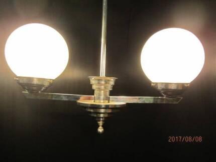 Original 1930s art deco light
