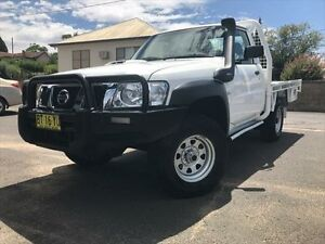 2008 Nissan Patrol GU MY08 DX (4x4) White 5 Speed Manual Young Young Area Preview