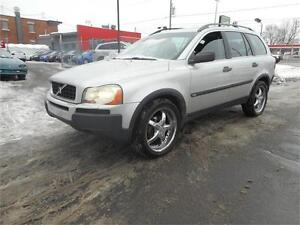 VOLVO XC90 2004 AWD T6 7 PASSAGER***VISA MASTER CARD****ACCEPTÉ