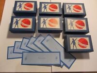 Meccano Small Blue Parts Boxes for 1950's 10 Set