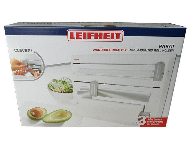 Leifheit 25703 Parat ComfortLine Küchenrollenhalter Wandrollenhalter NEU und OVP