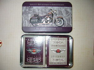 Harley Davidson 1998 Collectors Edition Playing Catds