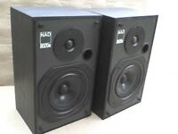 60W KEF NAD 8020e Stereo Speakers - Heathrow