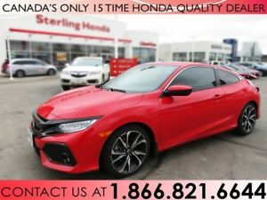 2017 Honda Civic Si TURBO | TINT | PROTECTION PKG. | CLEARSHIELD