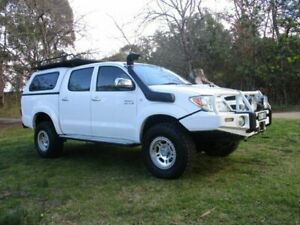 2008 Toyota Hilux KUN26R MY08 SR5 White 5 Speed Manual Utility Lucknow East Gippsland Preview
