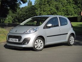 2012 (62 reg) Peugeot 107 Active 1.0 12v 5dr - C1, 107 and Aygo Specialist