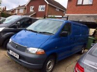 Toyota Hiace factory fitted 6 seater panel van - central locking and alarm system- NO VAT