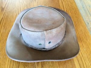 100% Leather Cowboy Hat - Made in Canada