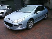 Peugeot 407 2.0HDi 136 2004MY SE salvage breaking spares or repairs